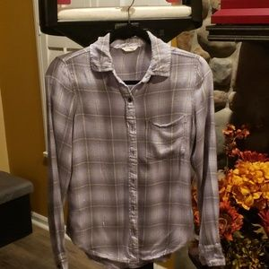 Aeropostale plaid flannel Small